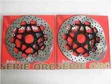 BREMBO 2 DISCHI FRENO ANTERIORI SERIE ORO DUCATI MONSTER S2R 800 2005 2006