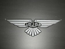 Large Jaguar XK Style 7 Feather Tail Wings Badge 16 inch Wall Si
