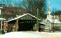 Old Covered Bridge at Waitsfield, Vermont