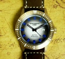 43mm Bronze Automatic Diver (Miyota 9015) 100m WR Sapphire Crystal