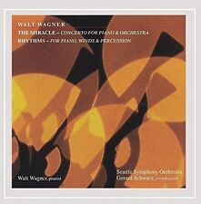 The Miracle - Concerto for Piano & Orchestra; Rhythms - for Piano, Winds & Percu