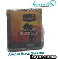 Raw African Black Soap 8oz Bars !!! (Free Shipping)