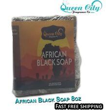 Raw African Black Soap 8oz Bars !!! (Free Shipping)