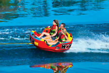 WOW Watersports Go Bot Cockpit 3P 3 Rider Inflatable Tube Boat Towable 18-1050