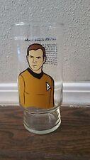 Star Trek Captain James T Kirk Glass Dr. Pepper 1976 Collector's Series Original