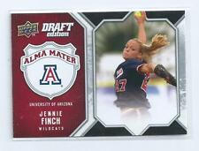 Jennie Finch 2009-2010 Upper Deck Draft Edition Alma Mater Arizona #am-jf