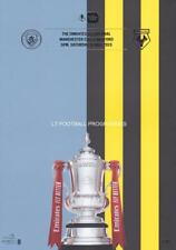 * 2019 Fa Cup Final Programme - Man City v Watford *