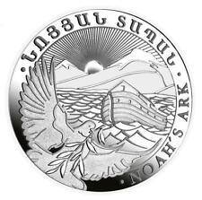 Arche Ark Noah 2019 1 OZ Unze Silber Silver Argent Armenien Armenia Arménie