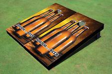 Three Beers Custom Cornhole Board