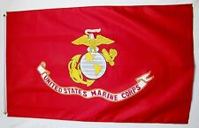 United States Marine Corps Made In The USA Flag 3' X 5' Licensed Banner