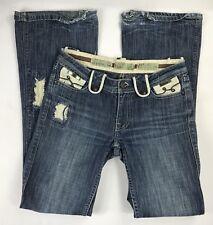 "Women's LUXIRIE Designer Denim Jeans ""Artillery Bootcut"" Size 26"