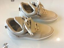 Filling Pieces Women's Beige Leather Low Tops Sneakers Size 38/8 US $98.00