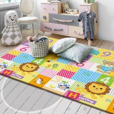 Double Sided Baby Crawling Mat Newborn Infant Play Mat Game Carpet Non-Slip Mat/