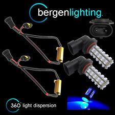 2X HB4 9006 BLU 60 LED ANTERIORE LAMPADINE PER FARI FENDINEBBIA SUPPLEMENTARI