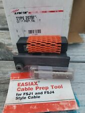 andrew type 207865 cable prep tool kit for easiax fsj1 and fsj4