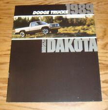 Original 1989 Dodge Dakota Deluxe Sales Brochure 89