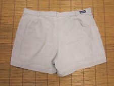 VINTAGE PATAGONIA STAND UP SHORTS MENS SIZE 40-ORGANIC COTTON-STONE-5 INCH
