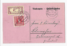 Austria Postcard - Philatelic Advertising - SC# QE3 + Franco Overprint - 1919*