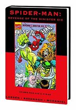 SPIDER-MAN: REVENGE OF THE SINISTER SIX HARDCOVER Amazing Comics VARIANT 103 HC