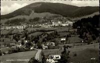 Mariazell Steiermark Postkarte 1963 gelaufen Panoramaansicht vom Sigmundsberg