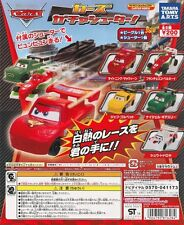 Disney Pixar Cars Gacha shooter Gashapon McQueen Shu Todoroki Francesco Set 5pcs
