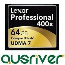 Genuine Lexar UDMA 7 64GB 64G 400x 60m/s Professional CF Compact Flash Card