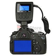 MACRO LED RING FLASH RF-550D For NIKON D3 D40 D50 D60 D70 D80 D90