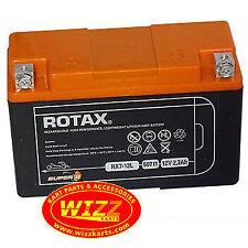 Genuine Rotax Max BATTERIA AL LITIO LEGGERO SPEDIZIONE GRATUITA WIZZ Kart