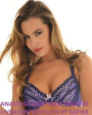 SUPERBELINGERIE THIFANNYSEXY SOUTIENS-GORGE PUSH-UP AMPLIFORME DENTELLEVIOLET95C