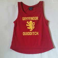 Gryffindor Quidditch Jersey Tank Top Harry Potter Size S Licensed Warner Bros