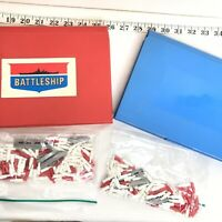 Vintage 1970s/80s Milton Bradley Battleship Game Board - Pieces And Parts