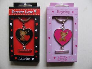 Keyrings Mum Valentine Designs Novelty Keys Safe Keeping Designer Key Ring Sets