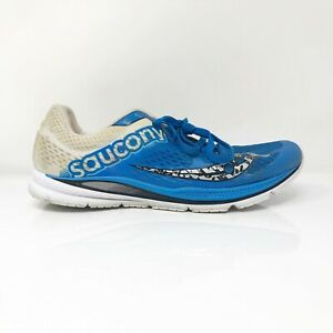 Saucony Mens Fastwitch 8 S29032-2 Blue Beige Running Shoes Lace Up Size 11