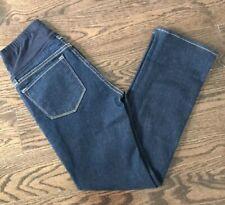 *EUC* J Brand Dark Wash Straight Leg Maternity Jeans Size 28 - Pea In The Pod