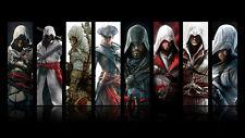 Assassins Creed 8 CharacterS Game Poster Art 24x36 Prints Wallpaper