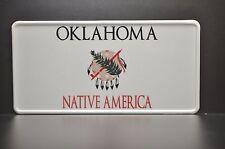 USA OKLAHOMA STATE LICENSE PLATE US Kennzeichen Nummernschild DEIN WUNSCH TEXT