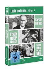 LOUIS DE FUNÈS - EDITION 2 3 DVD NEU