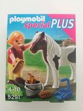 Playmobil 5291 - Girl / Mädchen mit pony (MISB, NRFP, OVP)