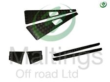 landrover defender chequer plate kit premium mammouth 3mm black chequer kit 90