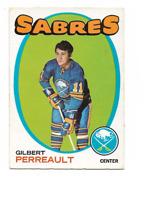 1971-72 O-Pee-Chee #60 Gilbert Perreault Buffalo Sabres ***