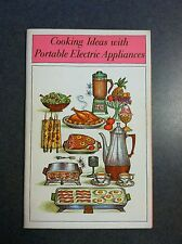Cooking Ideas with Portable Electric Appliances Recipe Cookbook Paperback