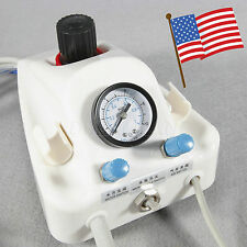 New Dental Portable Turbine Unit Work With Compressor 4h Air w/  Water bottles