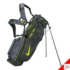 Nike 2021 Air Hybrid Golf Stand Caddie Cart Bag 5Way PE CV1304-066 Black/Yellow