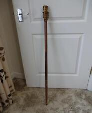 Brand New Sheesham Wood Walking Cane With Telescope On The Top.