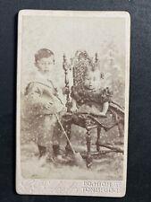 Victorian Carte De Visite CDV: Children Boy Dress Spade: Pickett: Tonbridge