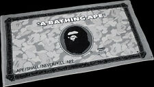 A BATHING APE Bape x AE American Express Card Bath Beach Towel Limited Edition