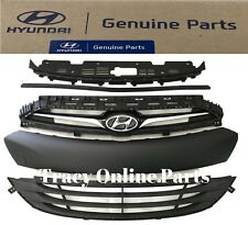 Front Grille Assembly 13-14-15-16 Genesis Coupe New OEM Hyundai Set of 5 Parts