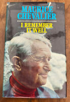 I Remember It Well - Maurice Chevalier - HB - 1971 - (Signed)