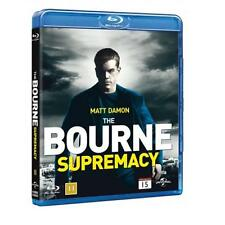 The Bourne Supremacy Blu-ray Film Jason Bourne/Matt Damon Region B NEW SEALED