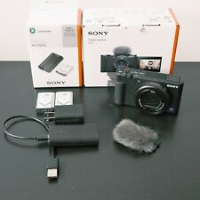 Sony ZV-1 20.1MP/4K Compact Vlog Digital Camera - Barely Used Pristine Condition